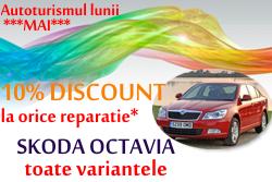 SKODA Octavia - reparatie cu 10% discount!